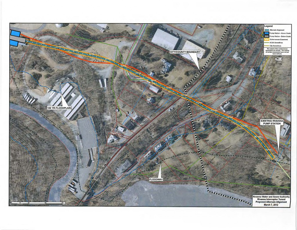 Rivanna Pump Station Aerial Map