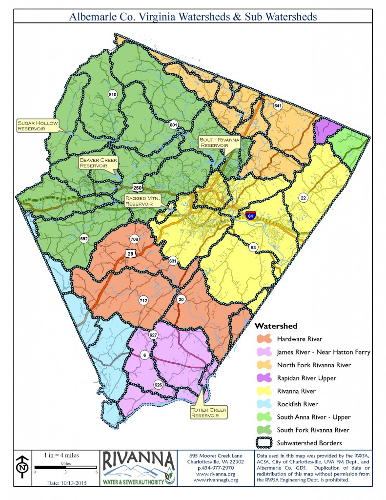 Map of Our Watershed