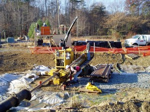 Installation of Groundwater Remediation Equipment